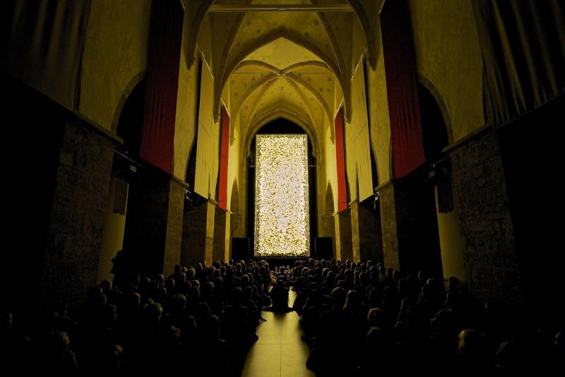screening of #43 in Krems, last october. photo © 2013 Sascha Osaka