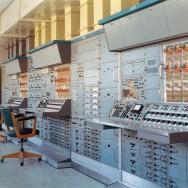 EAI analog computer installation at the Deutsches Zentrum für Luft- und Raumfahrt.