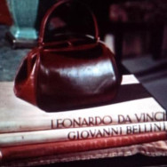 handbag with key hiding in plain sight in 'Dial M for Murder' by Alfred Hitchcock.