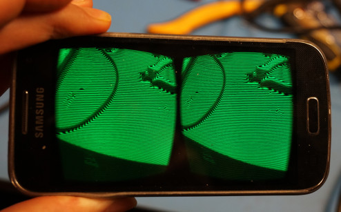 stereoscopic luminance displacement in an Android app.