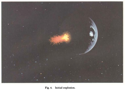 The first particle system as used in Star Trek.