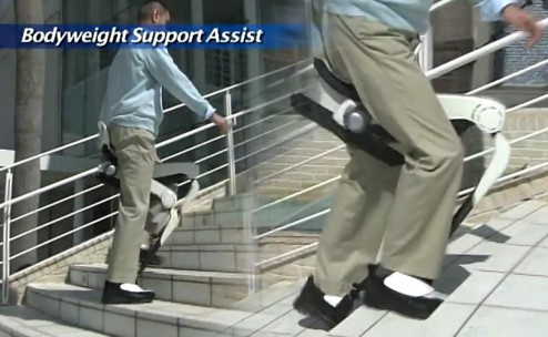 Assisted walking device developed by Honda Technologies.