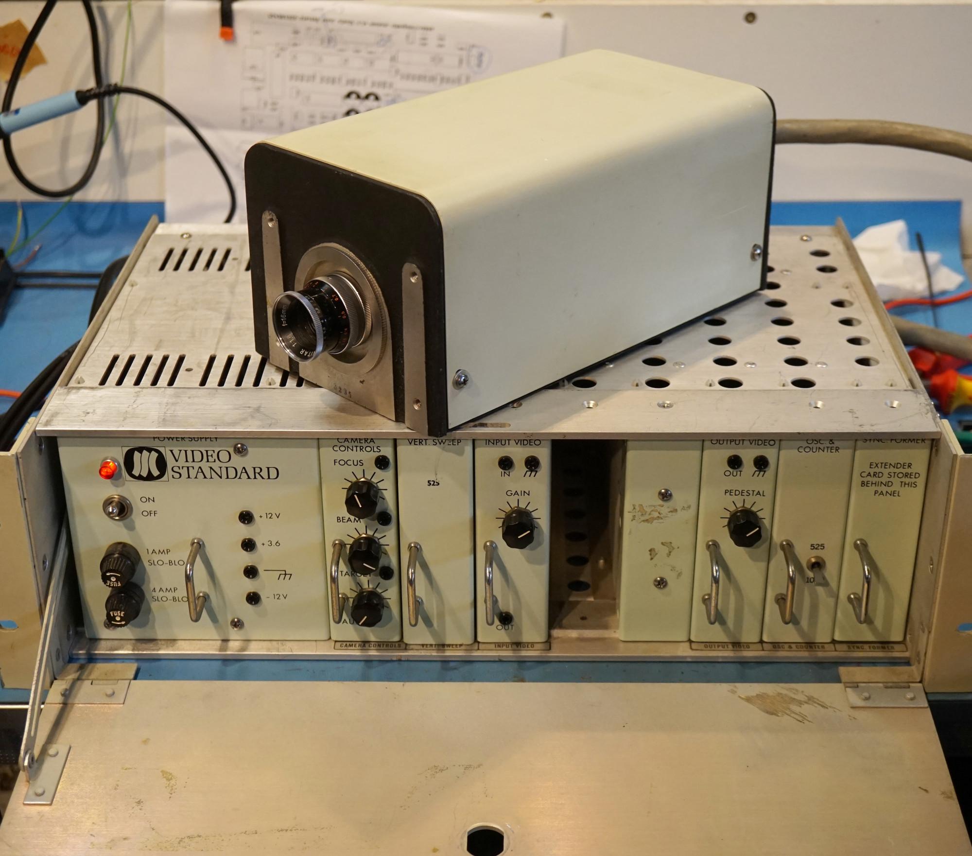 The Sierra Scientific LSV-1 high-resolution camera.